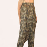 ** CRISTY ** Jumpsuit all-over palms print